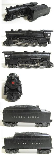 LIONEL 2025 2025 2 6 2 OR 2 6 4 STEAM LOCOMOTIVE AND TENDER $325.00