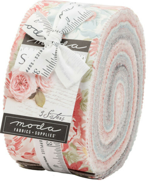 Sanctuary Moda Jelly Roll 40 100% Cotton 2.5quot; Precut Fabric Strips