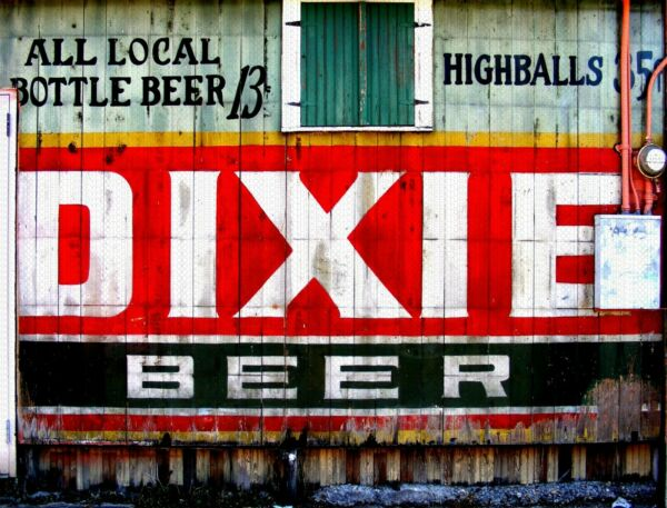 DIXIE BEER STORE SIDE 9quot; x 12quot; Sign
