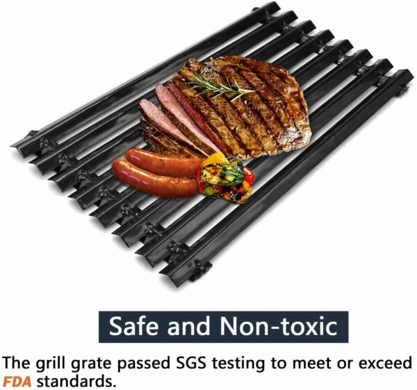Porcelain Steel Grill Grates Replacement for Charbroil 463440109..Kenmore...