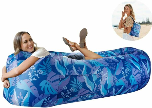 Inflatable Multifunctional Air Sofa Waterproof Airbed Lounger Portable Hammock $58.99