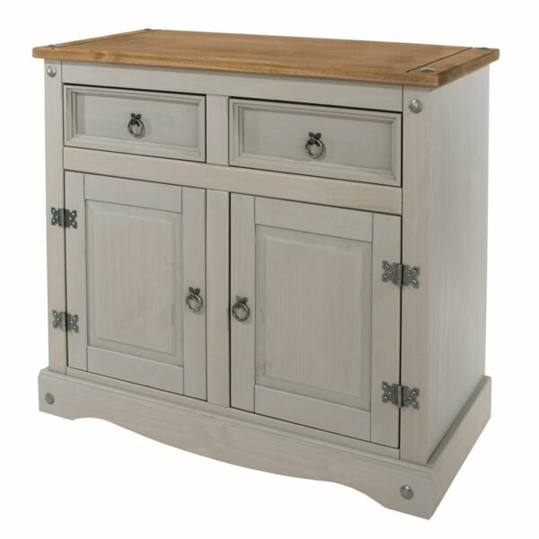 Wood Buffet Sideboard Corona Gray Furniture Dash