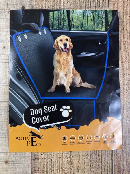 Active Pets Dog Back Seat Cover Protector Waterproof Scratchproof Hammock for Do $40.00
