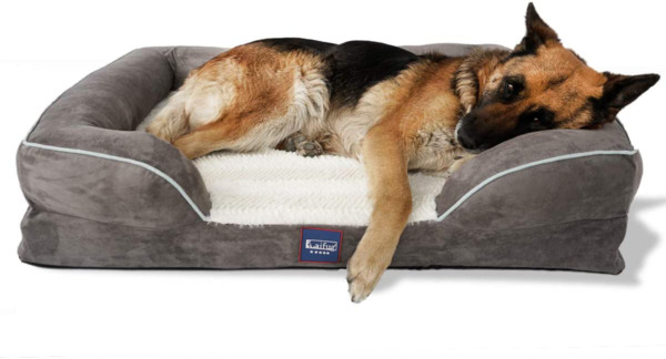 Laifug Large Dog BedOrthopedic Memory Foam Dog Couch with Free Waterproof Liner $119.99