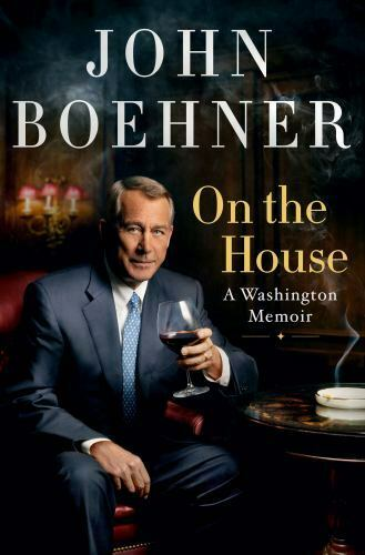 On the House by John Boehner Hardcover Free Shipping