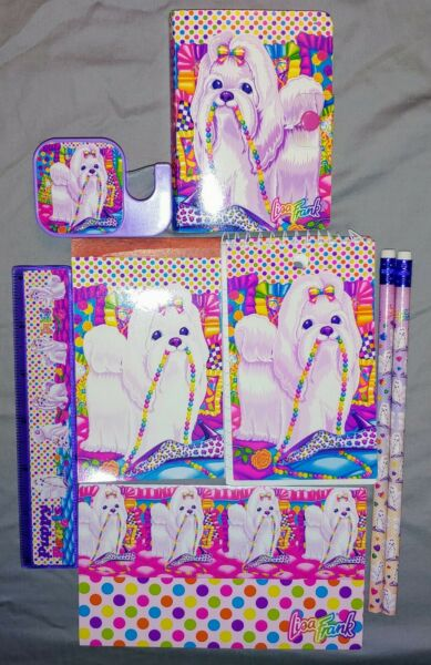Vintage Lisa Frank Puppy With Pearls Stationary $40.00