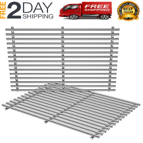 Replace BBQ Stainless Steel Cooking Grill Grates for Weber Genesis Spirit 500