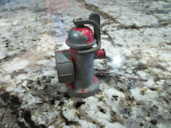 Vintage TONKA Toys cast FIRE HYDRANT w original turn on wrench fire truck