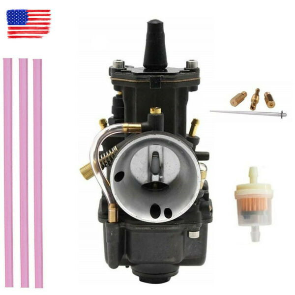 2T 4T Motorcycles PWK34 Carburetor Fit For Koso OKO Power Jet Universal 34mm $35.79