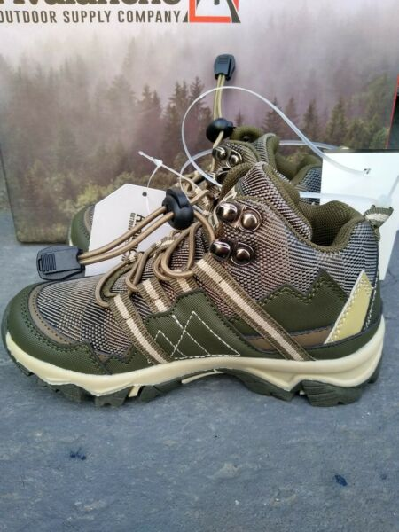 toddler size 12 hiking boots avalanche olive green Brown $20.00