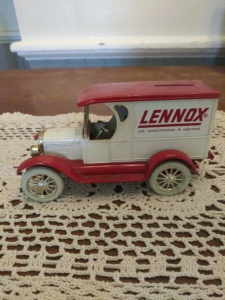 Toy Lennox Air Conditioning And Heating Cast Metal Bank toy Truck $15.00