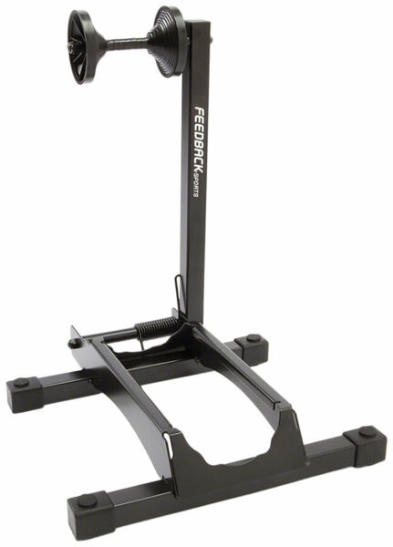 Feedback Sports RAKK XL Display Stand 1 Bike Wheel Mount 2.3 5quot; Tire Black $50.00