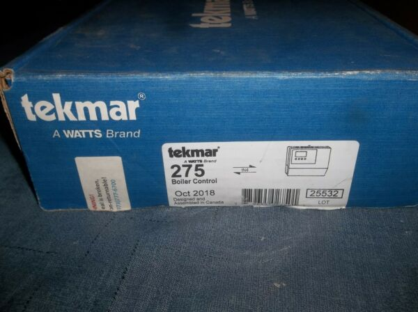 Tekmar 275 Boiler Control tN4 Compatible Outdoor Temp. Reset Four Mod... $899.00