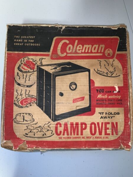 Coleman Camp Oven Model No. 5010A700 With Box and Instructions vintage