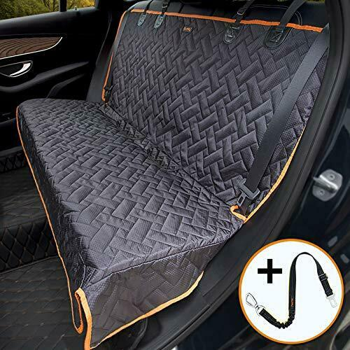 Bench Dog Car Seat Cover for Car SUV Small Truck Waterproof Back Seat Regular $40.04