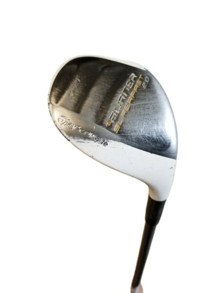 TaylorMade Burner Superfast 2.0 Rescue 4 21° Hybrid Reax 60 Regular Flex Nice