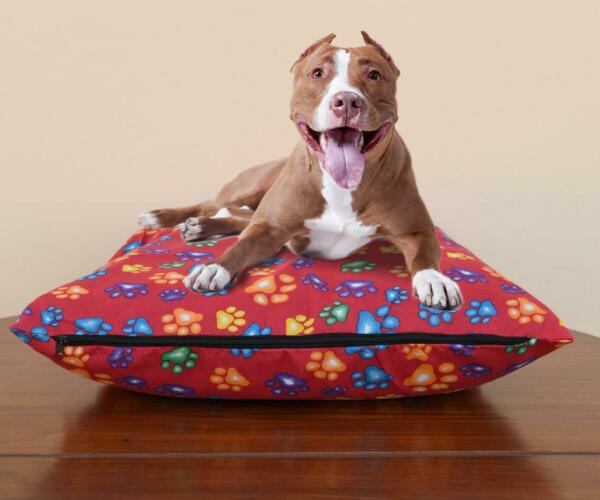 Dog Bed Cover Removable Multi Color Large Pet Cushion Zipper Covers Washable $12.28