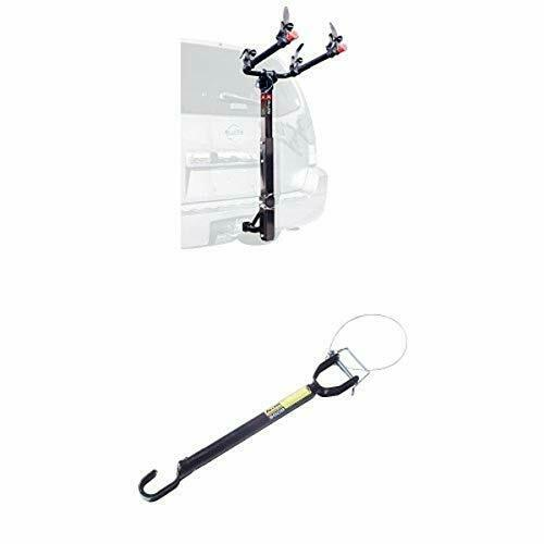 Allen Sports Deluxe 2 Bike Hitch Mount Rack with 1 2 Inch Assorted Styles $147.82