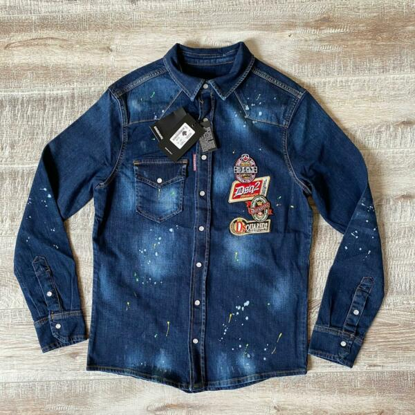 Dsquared denim jeans shirt all size free shipping GBP 89.99