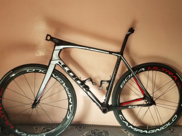 look 675 light carbon technology frameset used as demo size m 53 $1299.00
