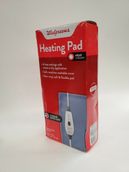 Heating Pad 4 Heat Settings 2 Hour Auto Off 12quot; x 15quot; Heat Therapy New $16.99