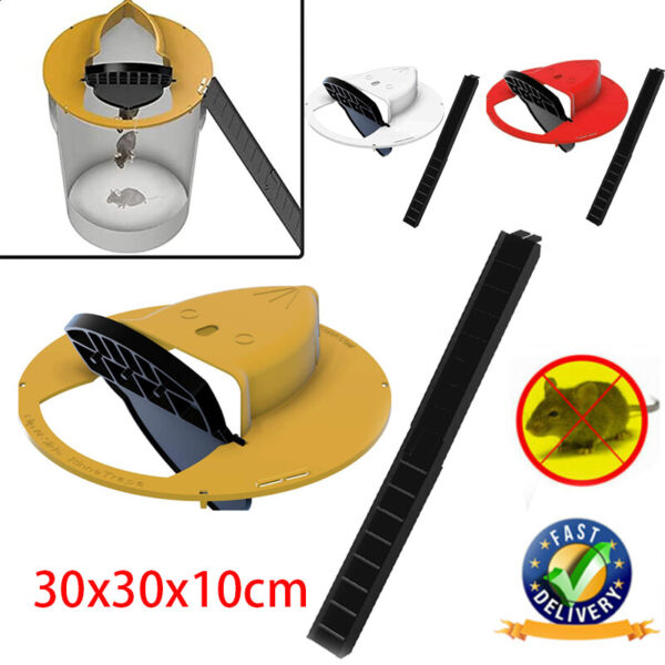 Slide Bucket Lid Mouse Rat Trap Flip N Slide Mouse Trap Bucket Mousetrap Catcher $19.30