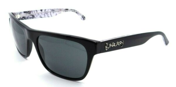 Burberry Sunglasses BE 4268 3715 87 56 18 145 Black Grey Made in Italy $107.20