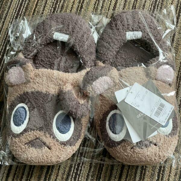 Animal Crossing Gelato Pique Room Shoes slipper Tsubumame Timmy Tommy for men $74.00