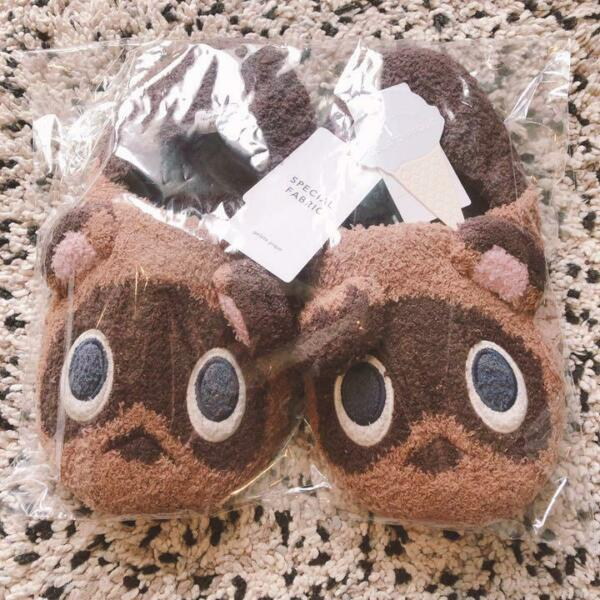 Animal Crossing Gelato Pique Room Shoes slipper Tsubumame Timmy Tommy for women $74.00