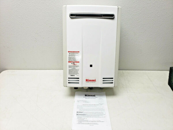 Rinnai V53DeP 5.6 GPM Residential 120000 BTU Natural Gas Tankless Water Heater $399.99