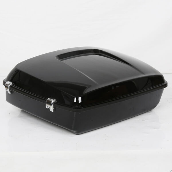 Black Chopped Tour Pack Trunk For Harley Davidson 14 21 Electra Road Glide $161.87