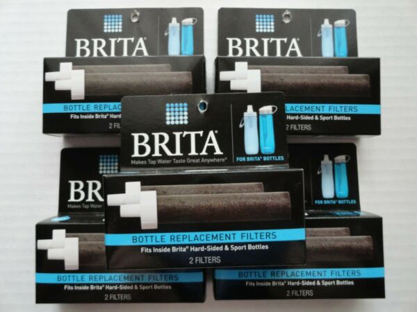 Brita Bottle Replacement Filters 2 Pack BB06 LOT of 5