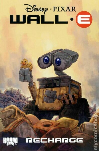 Wall E Recharge TPB #1 1ST NM 2010 Stock Image $11.00