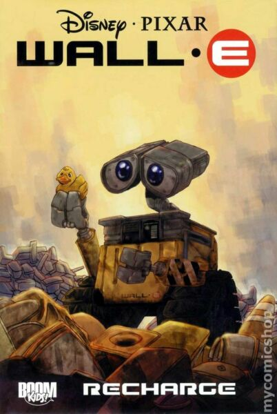 Wall e Recharge HC #1 1ST NM 2010 Stock Image $17.50