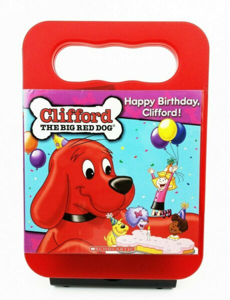 Clifford the Big Red Dog Happy Birthday Clifford DVD 2007 TESTED $6.50