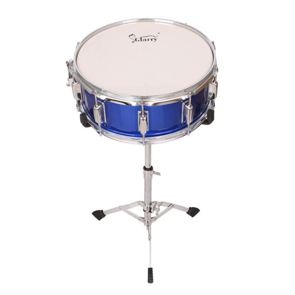 14 x 5.5quot; Snare Drum Poplar Wood Drum Percussion Set With Snare Stent Drum Stand