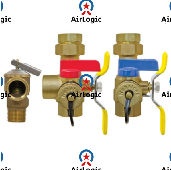 Rheem 3 4quot; FTP Tankless Water Heater Isolation Valves Kit W Relief Valve $86.99