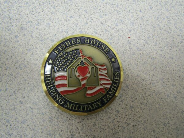 CHALLENGE COIN FISHER HOUSE WILFORD HALL LACKLAND AFB TEXAS HELPING MILITARY FAM $17.99