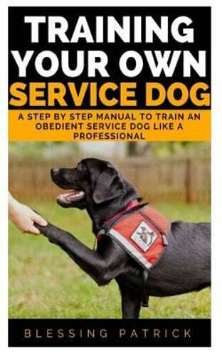 Training your Own Service Dog: A Step by Step Manual to Train an obedient: New $5.97