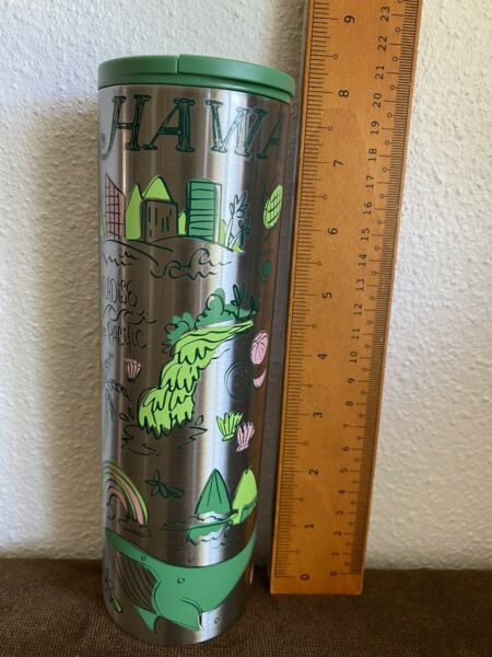 NEW Starbucks Stainless Steel Tumbler Travel 2019 Hawaii Been There Series 16oz