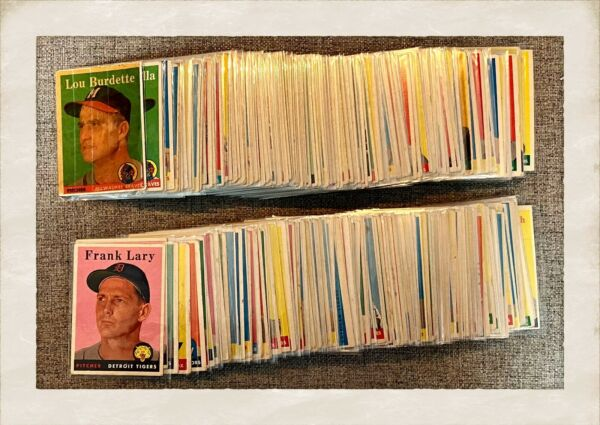 NEW LISTING 1958 Topps Baseball Cards $3.99 a Card amp; $1 Total Shipping