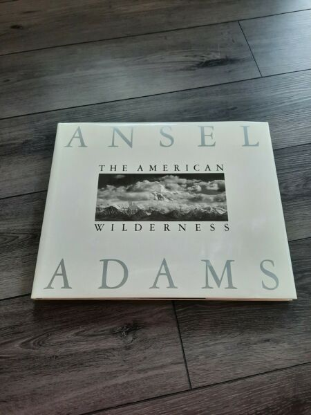 coffee table books hardcover: The american wilderness by Ansel Adams
