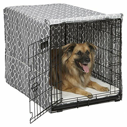 MidWest Dog Crate Cover Privacy Dog Crate Cover Fits MidWest Dog Crates Machi... $44.87
