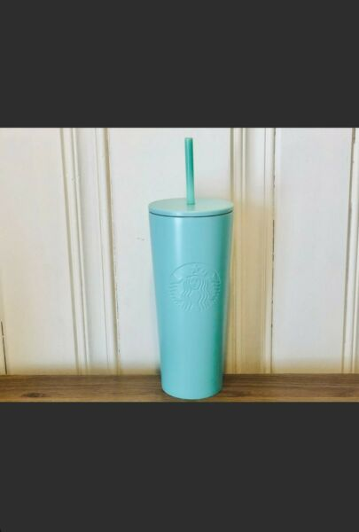 Starbucks Stainless Steel Tiffany Blue Cold Cup Tumbler