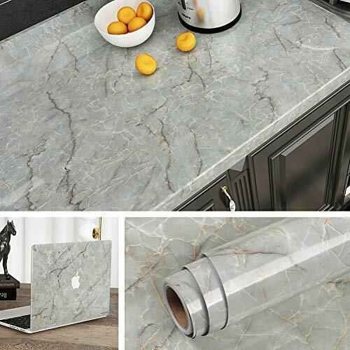 Peel And Stick Wallpaper Paper Waterproof Countertop Removable For Kitchen Decor