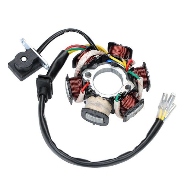 50cc 125cc Engine with 6 coil 5 wire Magneto Stator Dirt Bike ATV Go Kart bicycl $16.60