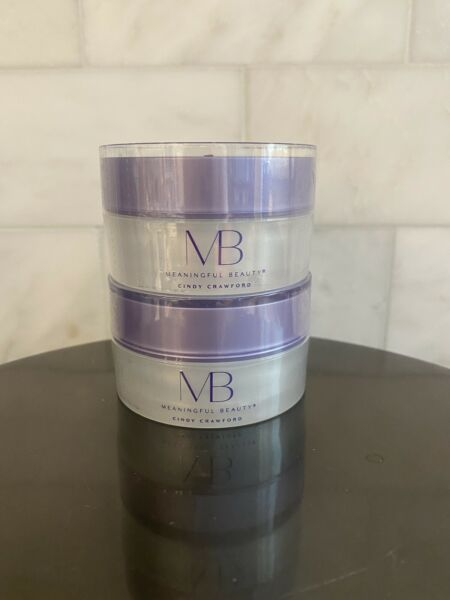 Sealed 2 Unit Travel Pack Meaningful Beauty Age Recovery Night Cream .33oz Each $19.90