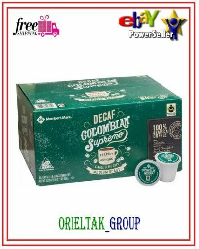 Member#x27;s Mark Decaffeinated Colombian Coffee Single Serve Cups 80 ct.