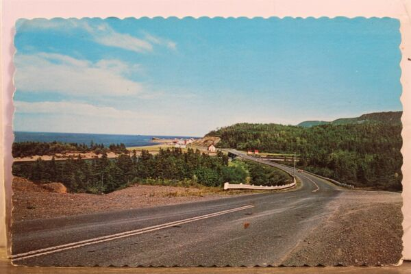 Canada Quebec Gaspe Nord Peninsula Postcard Old Vintage Card View Standard Post