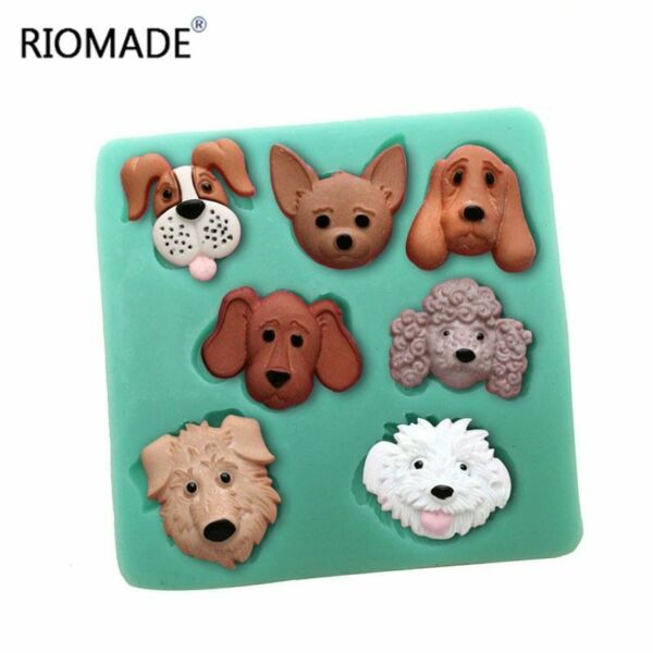 DIY Dogs Silicone Mold Epoxy Resin Jewelry Candy Chocolate Soap Making Tool $8.99